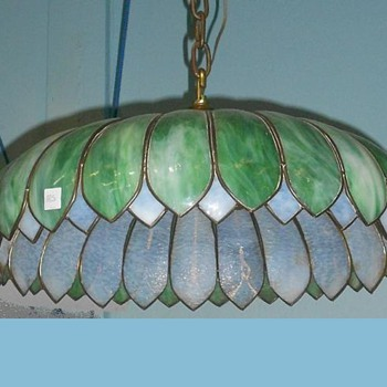 Handel Slag Chandelier