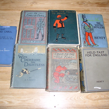 G.A. Henty adventure stories for boys