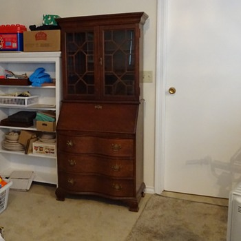 Secretary desk with secret compartment - How to open??