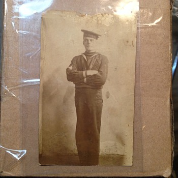 Rppc  military Sailor  - Postcards