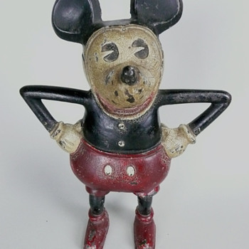Mickey Mouse Penny Bank - Coin Operated