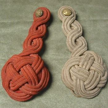 Late 19th Century US Enlisted Dress Shoulder Knots - Military and Wartime