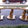 Puzzle 3 pieces tables golde