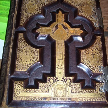 German 1866 Pulpit Bible - Books