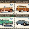 "Marshall Isld's ""Chevrolet"" Postage Stamps"