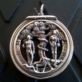 Sundial Pendant - Fine Jewelry