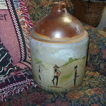 the old moonshine jug - Bottles