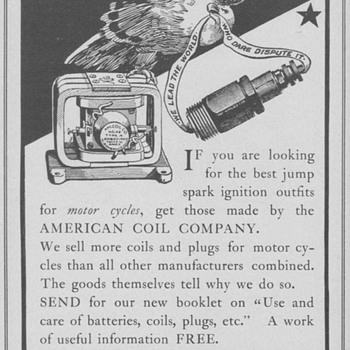 1902 American Coil Co. Advertisement