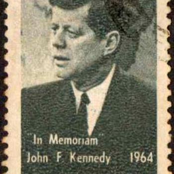 "Brazil - ""John F. Kennedy"" Postage Stamp"