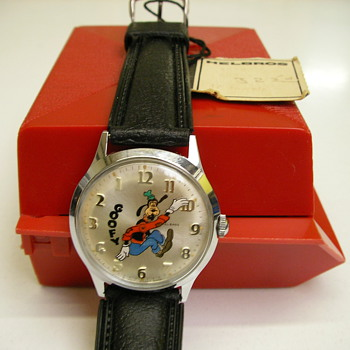 1971 Helbros Backwards Goofy Watch - Wristwatches