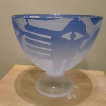 Fabula by Per Winger for Magnor Norway - Art Glass