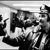 B & W 1979 NYPD  pic.Night at the Police Station!!