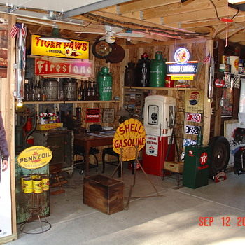  Some of my favorite items in the garage - Signs