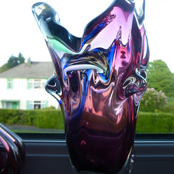 unusual piece - Art Glass