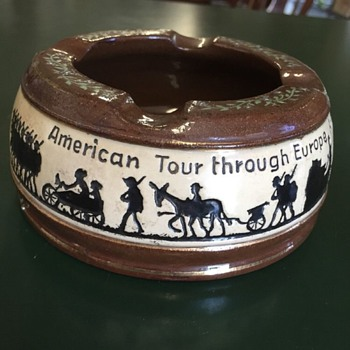 Post WWI Dumler and Breiden Ashtray for American Occupation Forces