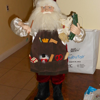 3ft Tall Sant Claus Doll
