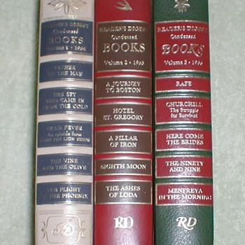 1964-1966 Readers Digest Condensed Books
