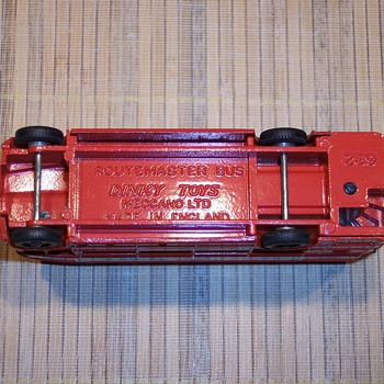 Dinky Routemaster Bus - Model Cars