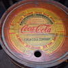 1930&#039;s Coca-Cola Wood Syrup Keg, Paper Label, Ten Gallon