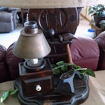 Inherited Blacksmith lamp