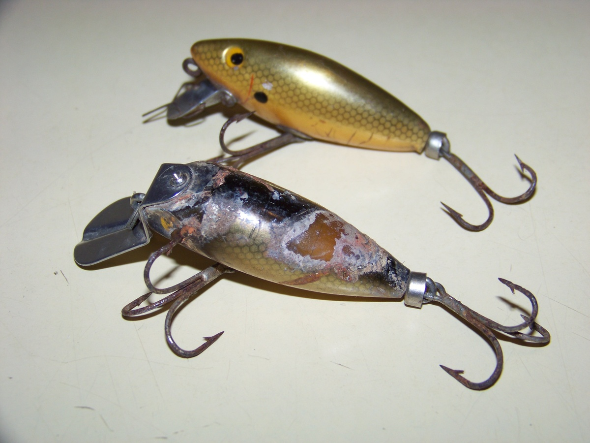 vintage fishing lure collectors weekly