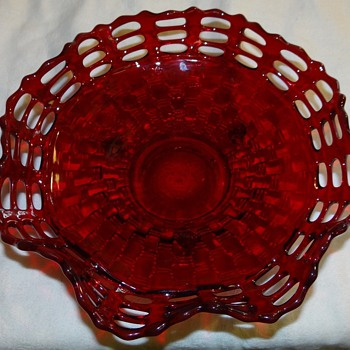 Triple open lace bowl,