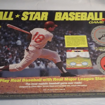 1968 CADACO ALL STAR BASEBALL BOARD GAME FACTORY SEAL MINT - Games