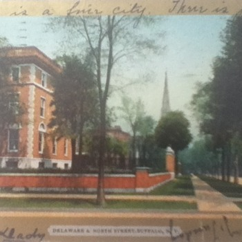 1906 Buffalo Post Card