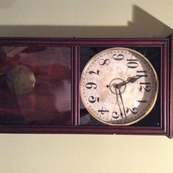 My Gilbert store clock