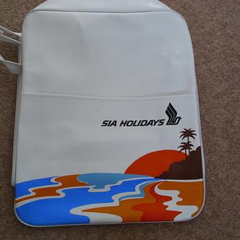 Vintage Singapore International Airlines Flight Bag - Bags