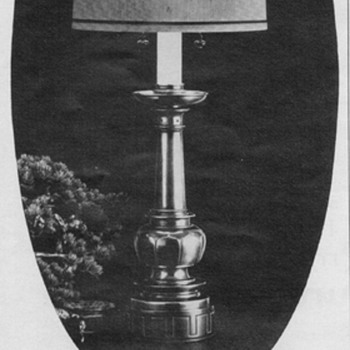 1968 - Stiffel Lamps Advertisement