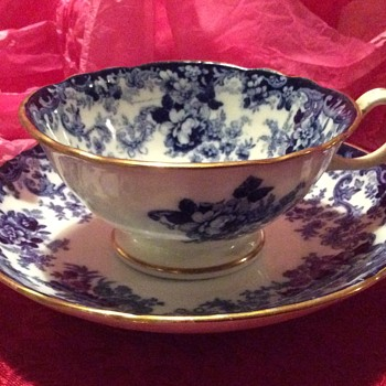 Victorian Minton Cup, Saucer and Plate