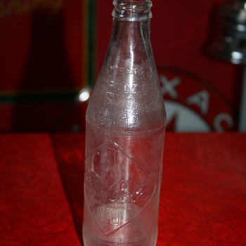 coca cola diamond bottle