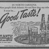 1945 - Atlantic Ale Advertisement