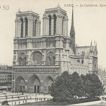 PARIS – LA CATHÉDRALE, ÉGLISE NOTRE DAME