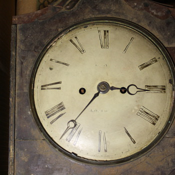 Gray / London Bracket clock
