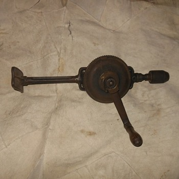 Yankee No 1555 Antique Heavy Duty Breast Drill - Tools and Hardware