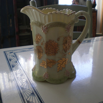 1890's Pitcher?  Rare?   Value? - China and Dinnerware