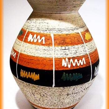 West Germany Pottery -- Vase - Pottery