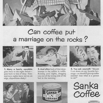 1951 - Sanka Coffee Advertisements