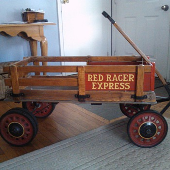 Auto-wheel Red Racer Express Coaster - Toys
