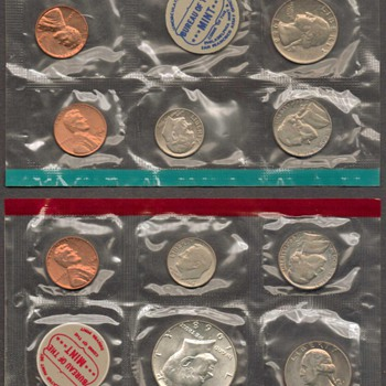 1968 - U.S. Mint Coins Set