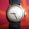 1950 23 jewel 24 hr military time Bulova man&#039;s wrist watch