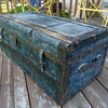 "Late 1800's ""Blue Boy"" trunk"