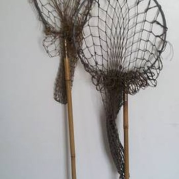 Antique Fishing Rods/Nets (Bamboo/Cane) - Fishing