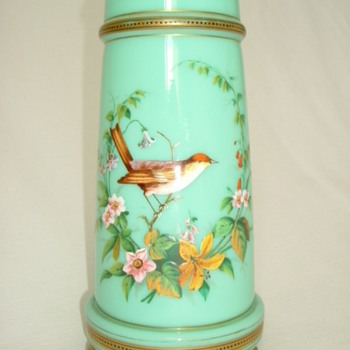 Harrach Enamelled Vase