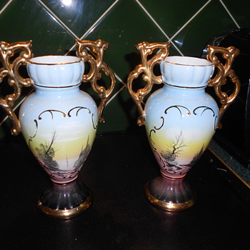 Vintage Vases made in Portugal. - Art Pottery