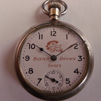 Buster Brown Pocket Watch