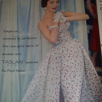 Vintage Fashion Ads