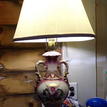 Hand-Painted Lamp - Lamps